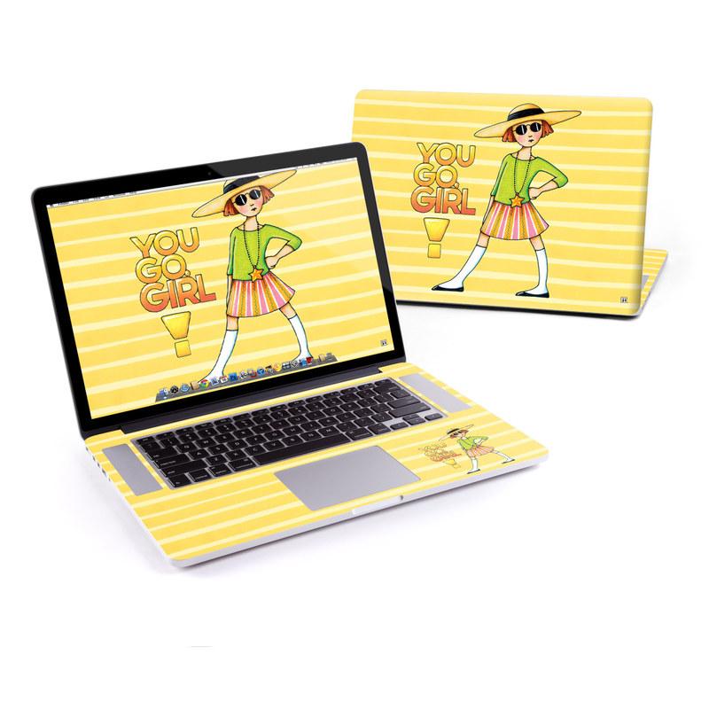 You Go Girl MacBook Pro Retina 15-inch Skin
