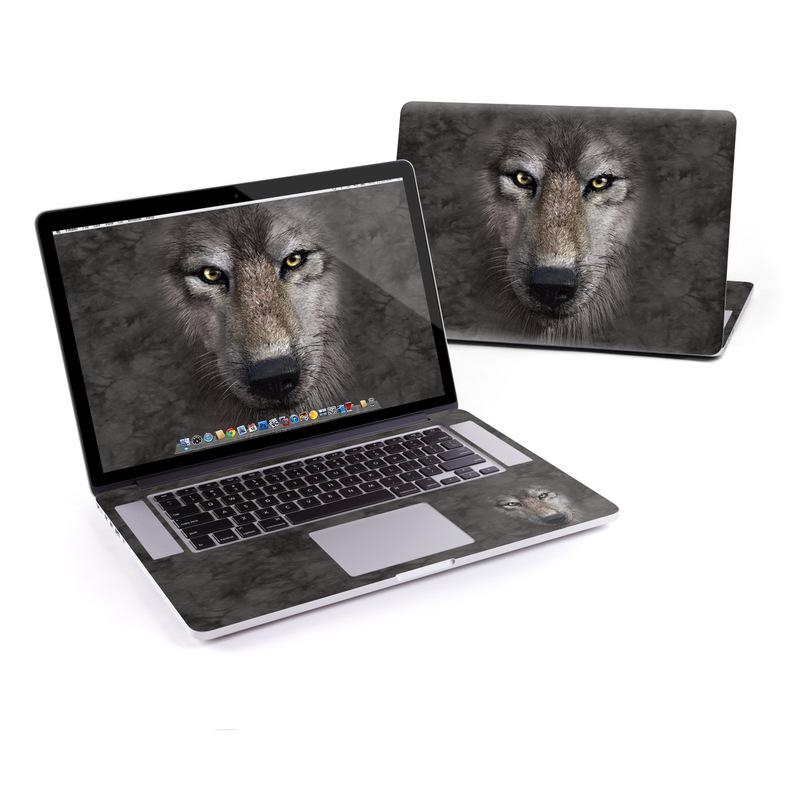Grey Wolf MacBook Pro Retina 15-inch Skin