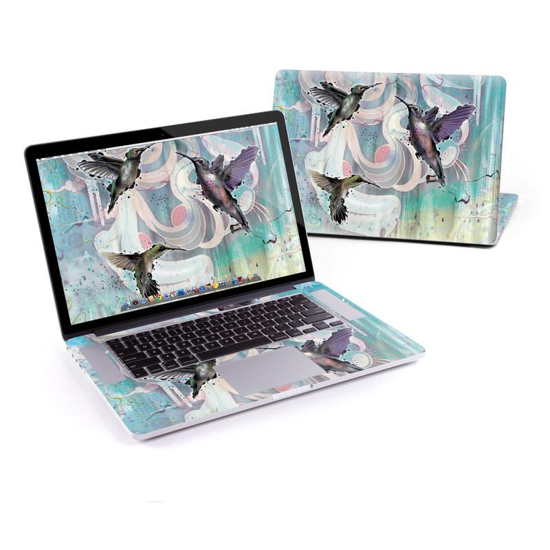 Hummingbirds MacBook Pro Pre 2016 Retina 15-inch Skin