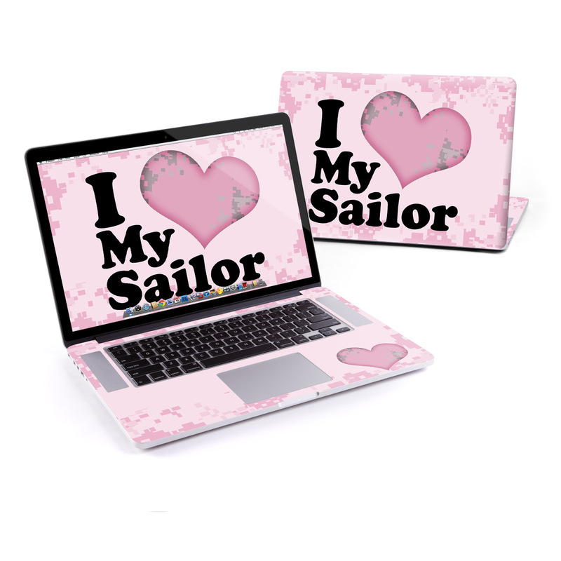 I Love My Sailor MacBook Pro Pre 2016 Retina 15-inch Skin