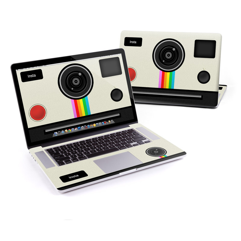 MacBook Pro Pre 2016 Retina 15-inch Skin design of Cameras & optics, Camera, Technology, Circle, Electronic device, Electronics, Colorfulness with gray, black, red colors