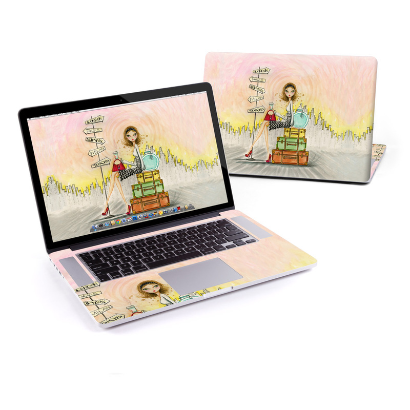 The Jet Setter MacBook Pro Retina 15-inch Skin