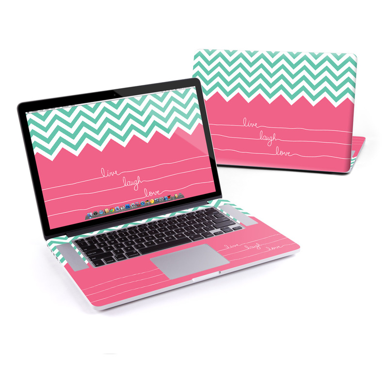 MacBook Pro Pre 2016 Retina 15-inch Skin design of Pink, Aqua, Line, Text, Turquoise, Pattern, Font, Magenta, Teal, Design with purple, white, blue, gray, pink colors
