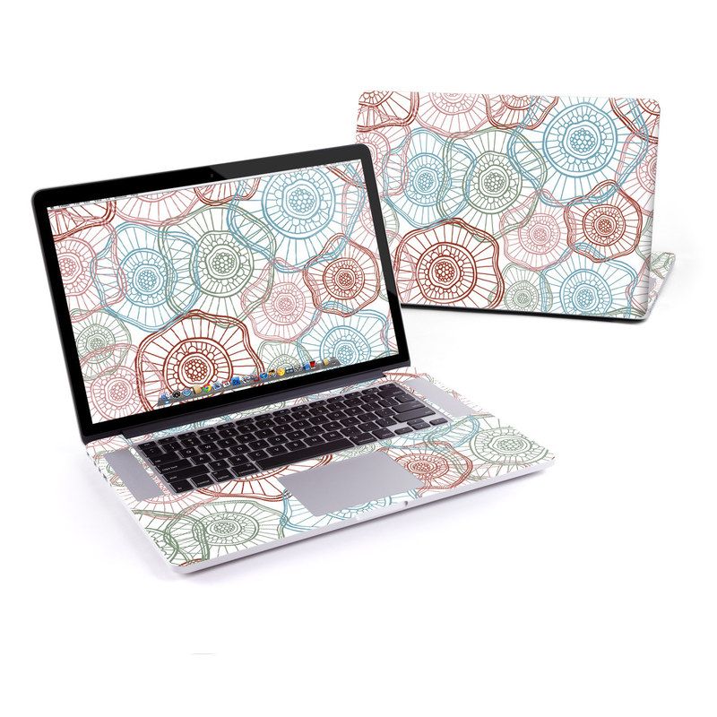 Micro Flowers MacBook Pro Retina 15-inch Skin