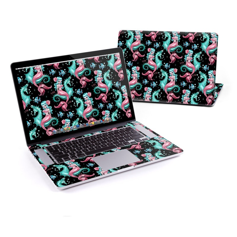 Mysterious Mermaids MacBook Pro Pre 2016 Retina 15-inch Skin