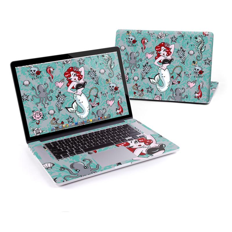 Molly Mermaid MacBook Pro Retina 15-inch Skin