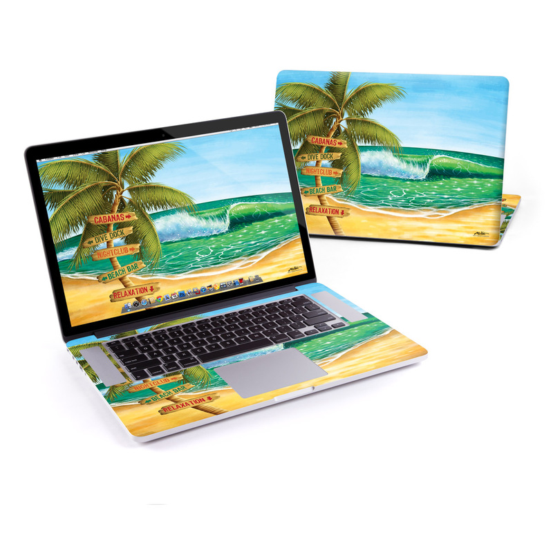 Palm Signs MacBook Pro Retina 15-inch Skin