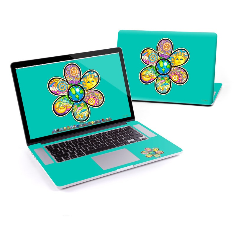 Peace Flower MacBook Pro Retina 15-inch Skin