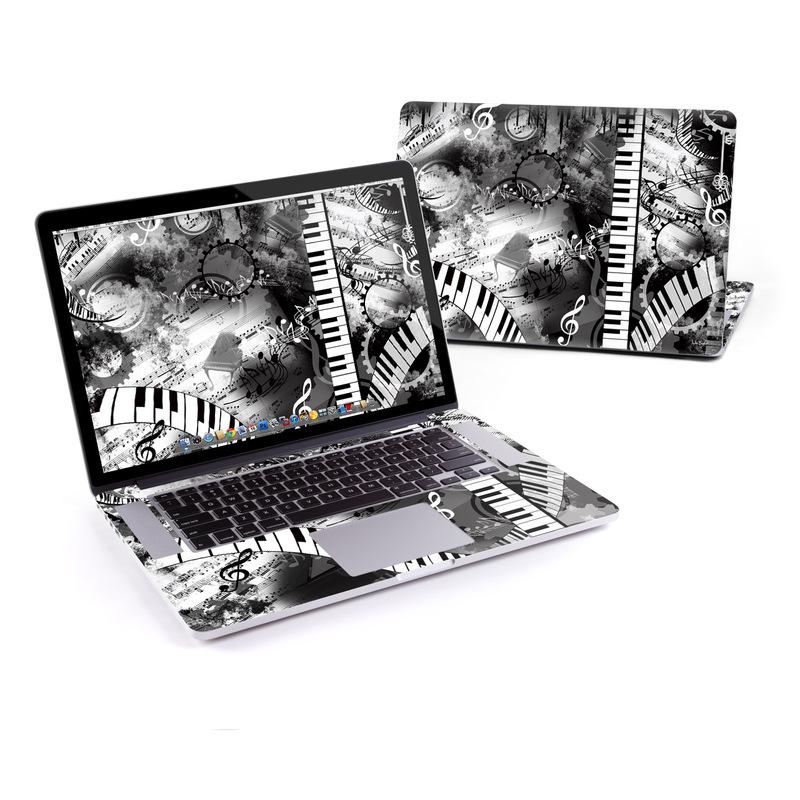 Piano Pizazz MacBook Pro Retina 15-inch Skin