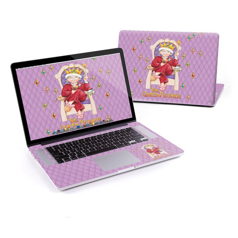 Queen Mother MacBook Pro Retina 15-inch Skin