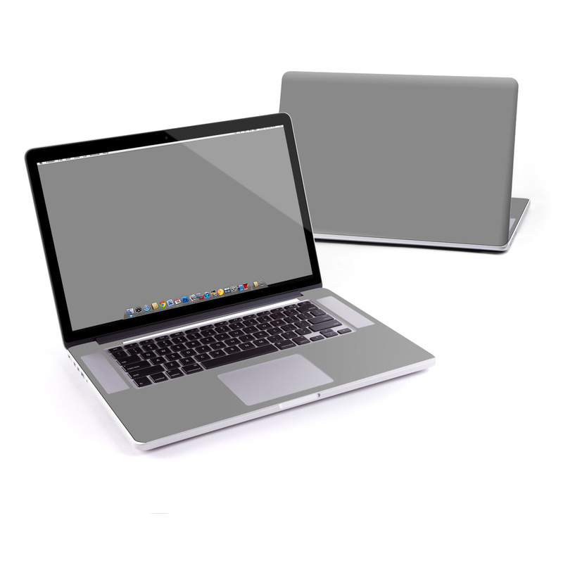 Solid State Grey MacBook Pro Pre 2016 Retina 15-inch Skin