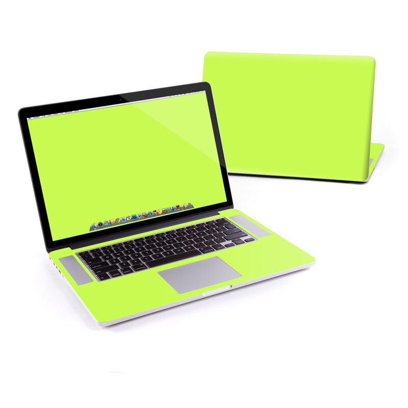 Solid State Lime MacBook Pro Retina 15-inch Skin