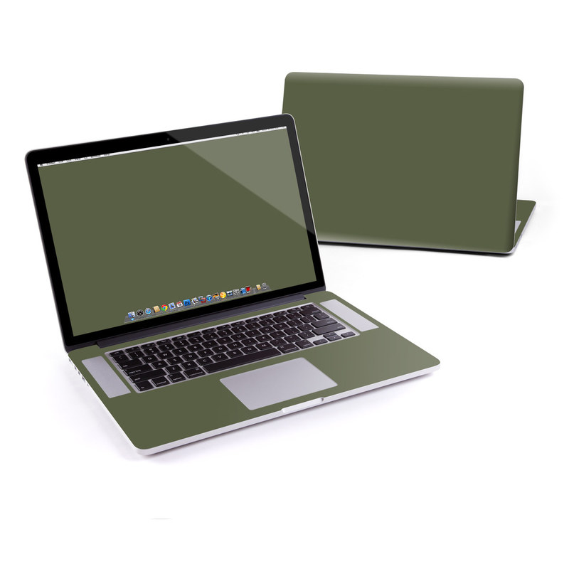 Solid State Olive Drab MacBook Pro Retina 15-inch Skin