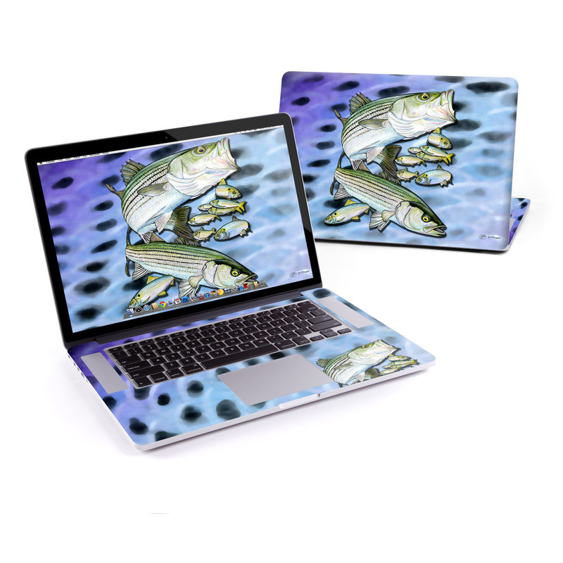 Striped Bass MacBook Pro Retina 15-inch Skin