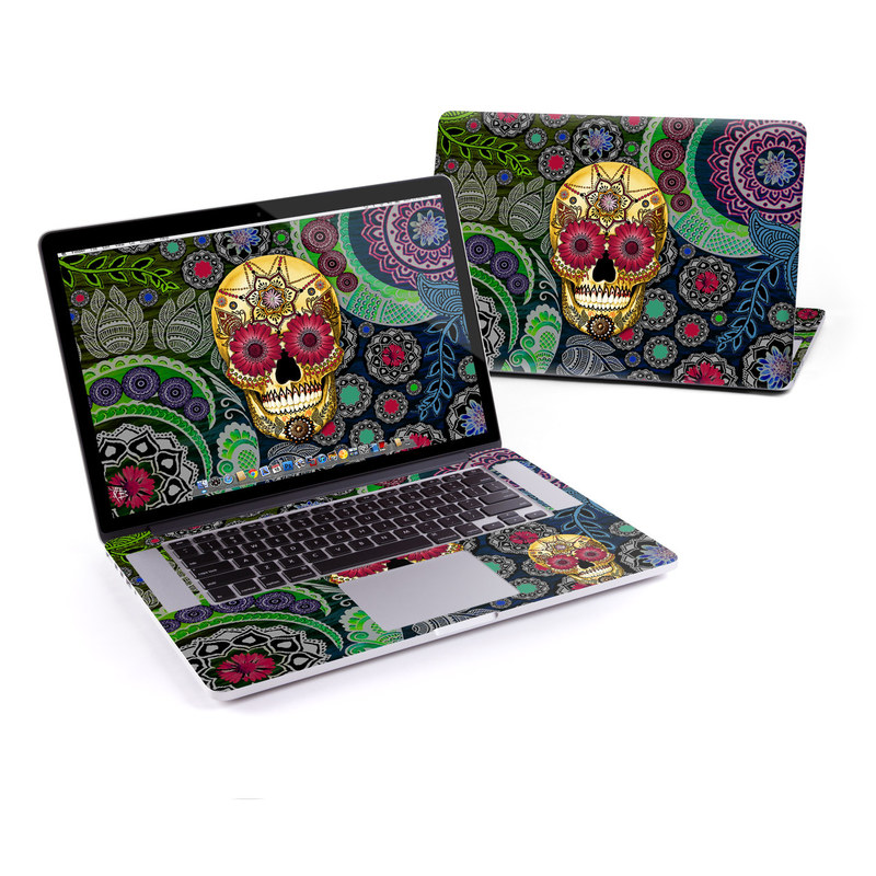 Sugar Skull Paisley MacBook Pro Retina 15-inch Skin