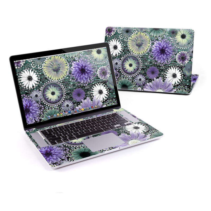 Tidal Bloom MacBook Pro Retina 15-inch Skin