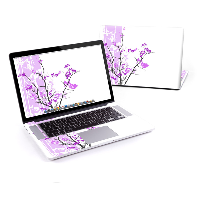 Violet Tranquility MacBook Pro Pre 2016 Retina 15-inch Skin