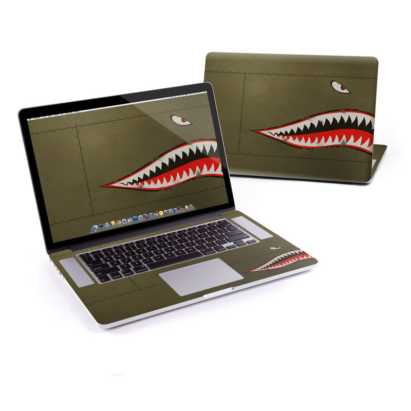 USAF Shark MacBook Pro Retina 15-inch Skin