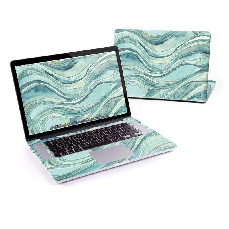 Waves MacBook Pro Retina 15-inch Skin