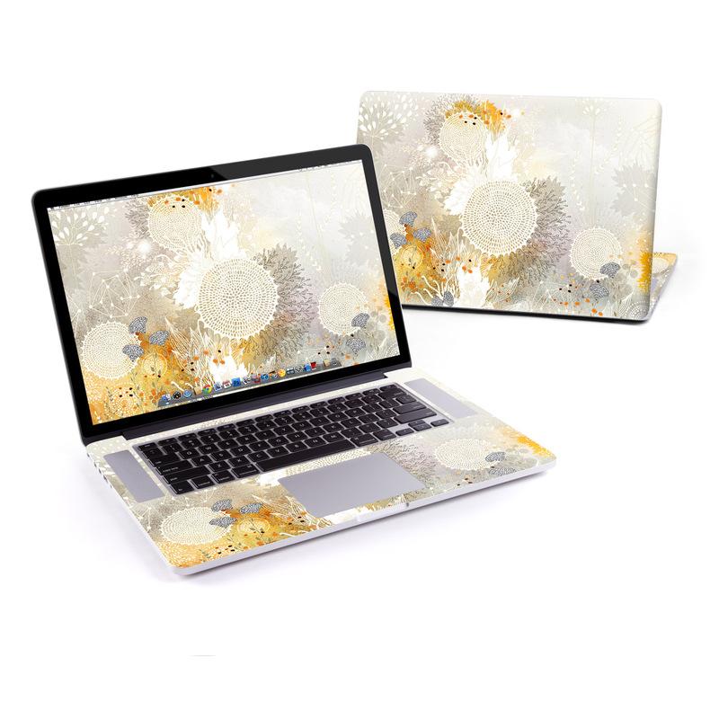 White Velvet MacBook Pro Retina 15-inch Skin