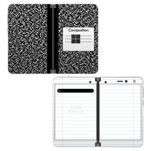 Composition Notebook Microsoft Surface Duo Skin