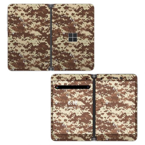 Digital Desert Camo Microsoft Surface Duo Skin