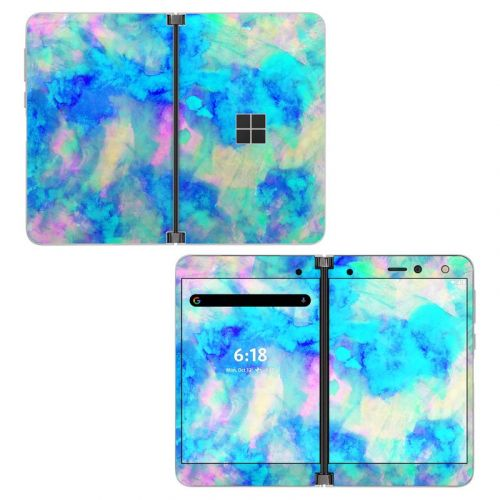 Electrify Ice Blue Microsoft Surface Duo Skin