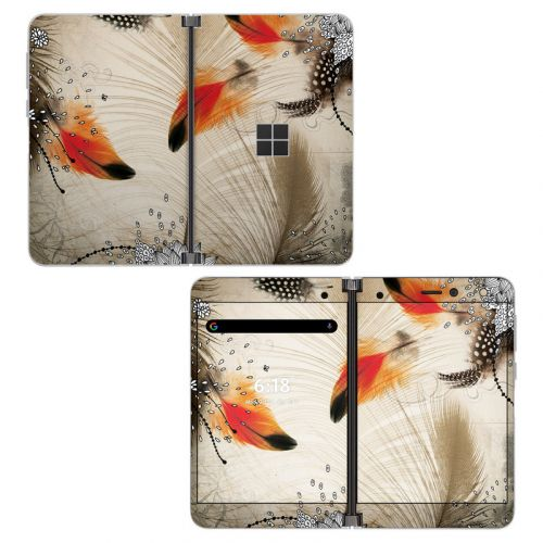 Feather Dance Microsoft Surface Duo Skin