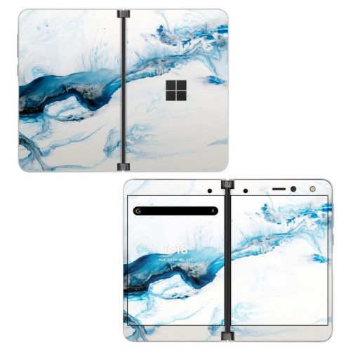 Polar Marble Microsoft Surface Duo Skin