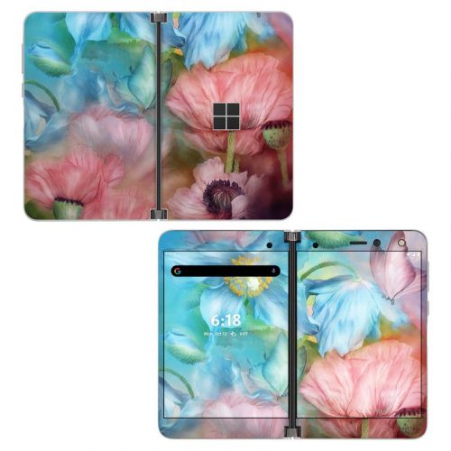 Poppy Garden Microsoft Surface Duo Skin