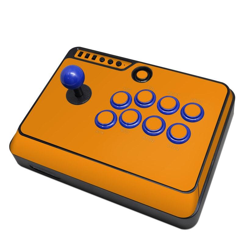 Mayflash Arcade Flightstick F300 Skin design of Orange, Yellow, Brown, Text, Amber, Font, Peach with orange colors