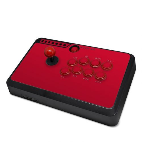 Solid State Red Mayflash Arcade Flightstick F500 Skin