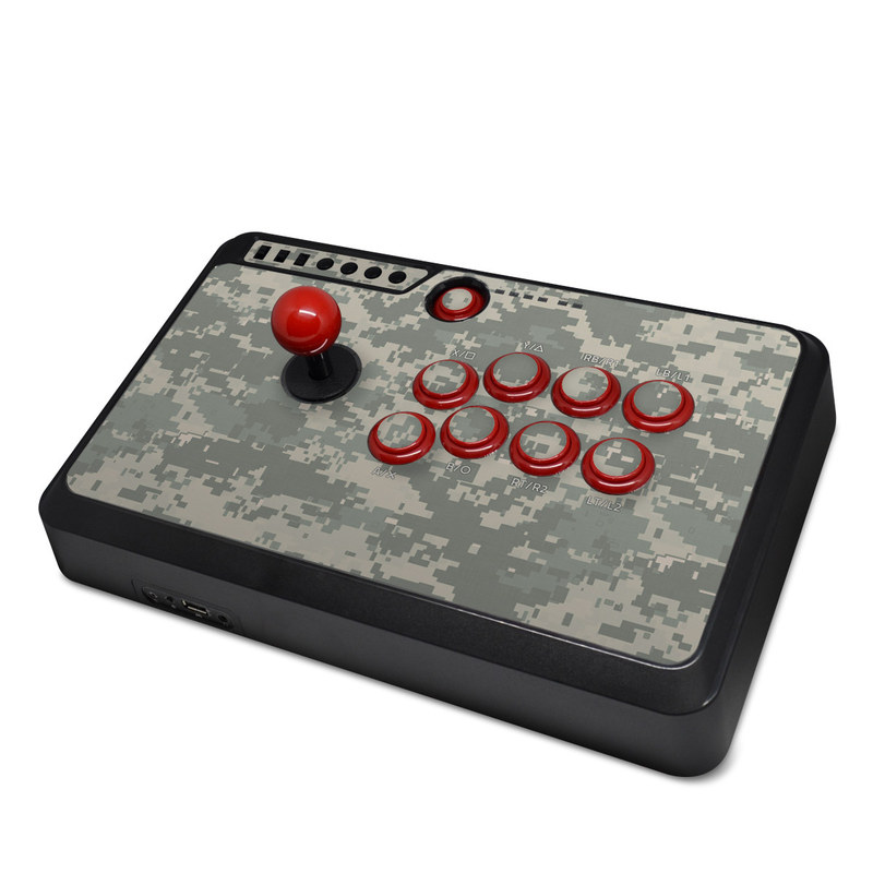Mayflash Arcade Flightstick F500 Skin design of Military camouflage, Green, Pattern, Uniform, Camouflage, Design, Wallpaper with gray, green colors