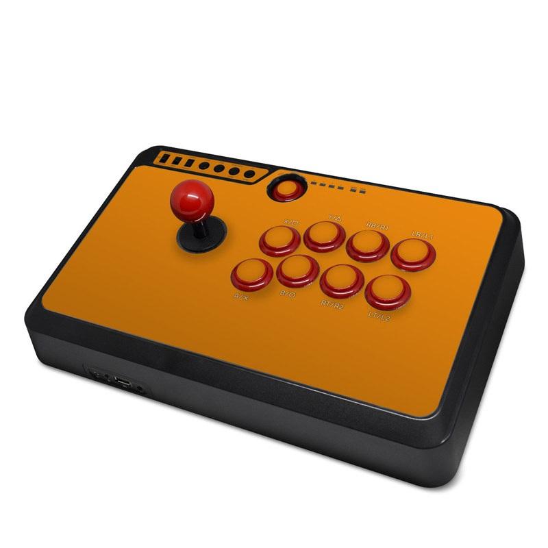 Mayflash Arcade Flightstick F500 Skin design of Orange, Yellow, Brown, Text, Amber, Font, Peach with orange colors