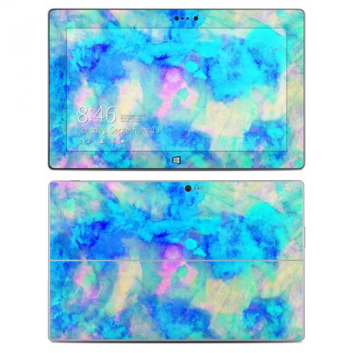 Electrify Ice Blue Microsoft Surface 2 Skin