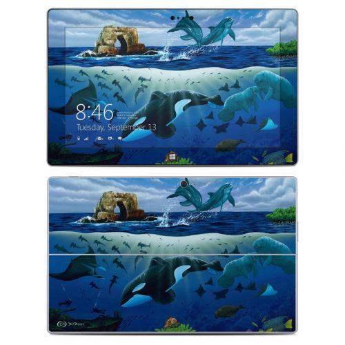 Oceans For Youth Microsoft Surface 2 Skin