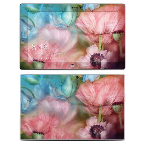 Poppy Garden Microsoft Surface 2 Skin
