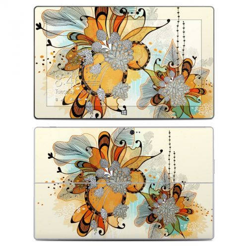 Sunset Flowers Microsoft Surface 2 Skin