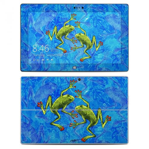 Tiger Frogs Microsoft Surface 2 Skin