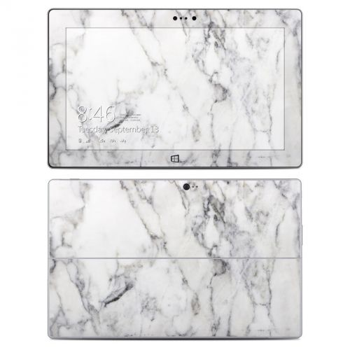 White Marble Microsoft Surface 2 Skin