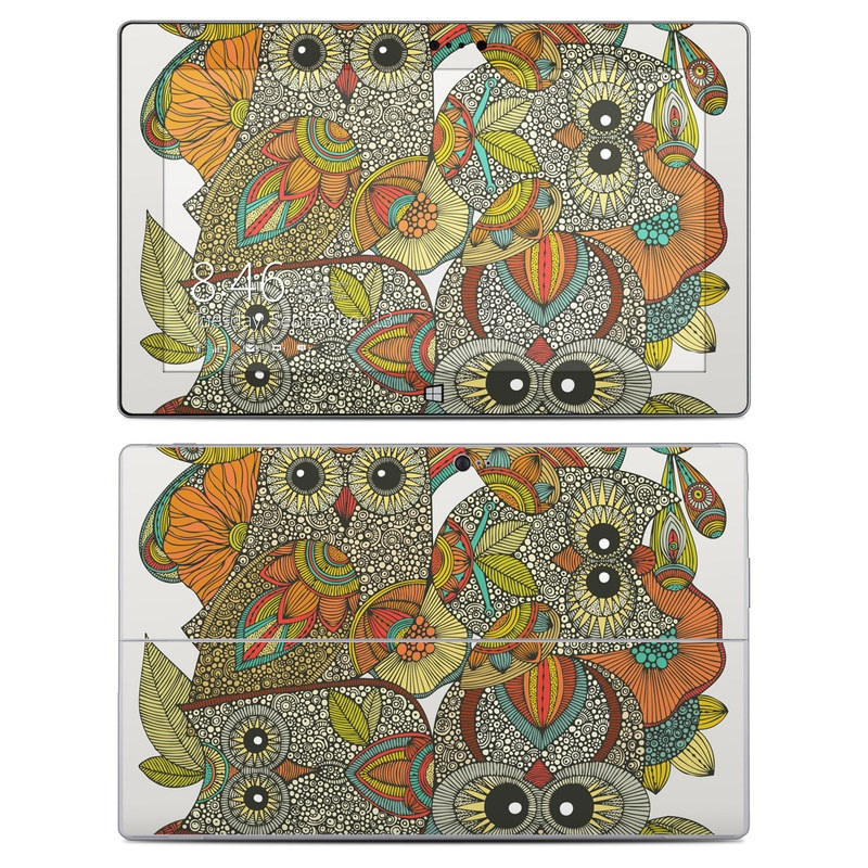 4 owls Microsoft Surface 2 Skin