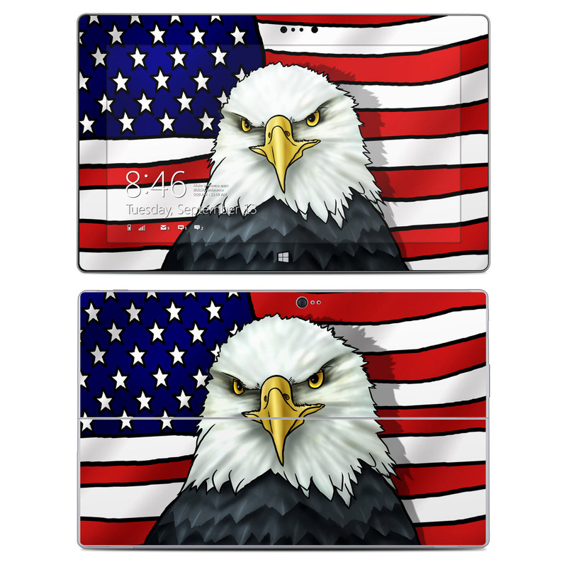 American Eagle Microsoft Surface 2 Skin