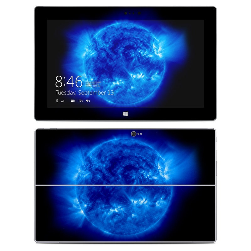 Blue Giant Microsoft Surface 2 Skin