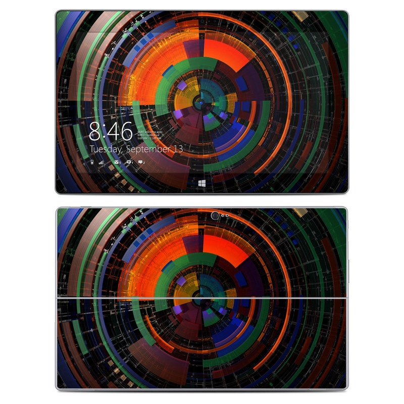 Color Wheel Microsoft Surface 2 Skin
