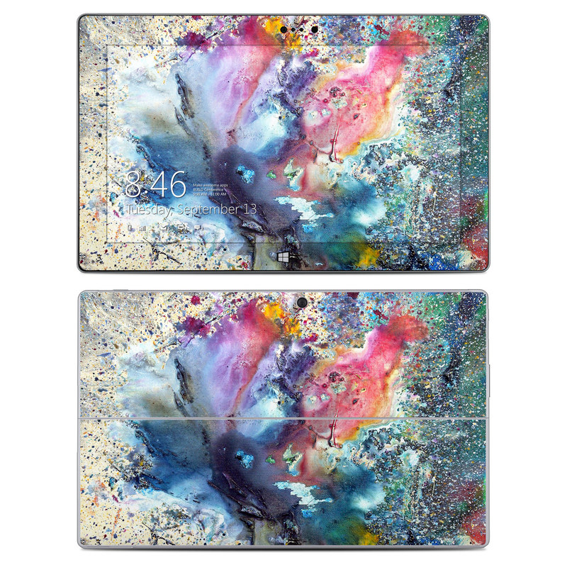 Cosmic Flower Microsoft Surface 2 Skin