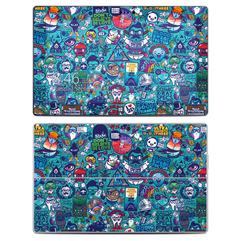 Cosmic Ray Microsoft Surface 2 Skin
