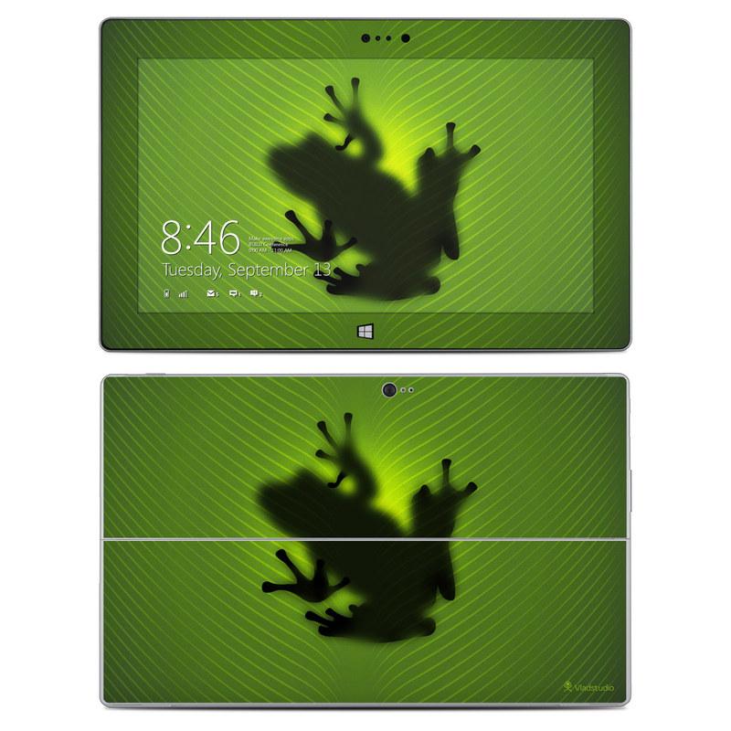 Frog Microsoft Surface 2 Skin