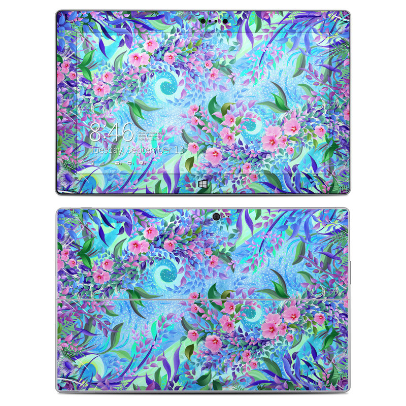 Lavender Flowers Microsoft Surface 2 Skin