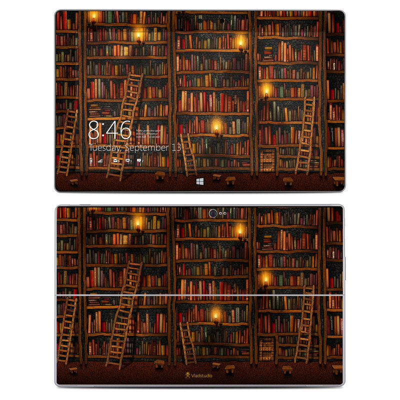 Library Microsoft Surface 2 Skin