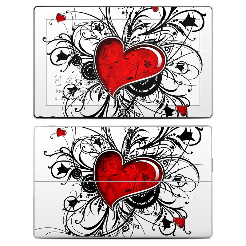 My Heart Microsoft Surface 2 Skin